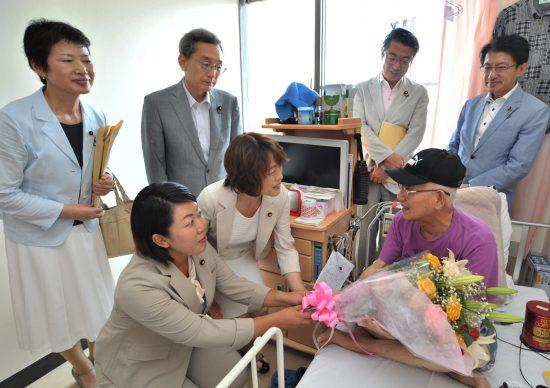 160808長崎原爆病院見舞い
